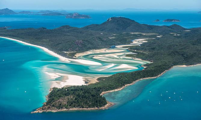 Whitsundays scenic flight deals