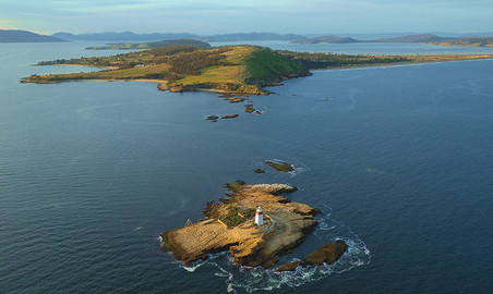 2 Hour Lighthouse And Island Cruise From Hobart - Iron Pot