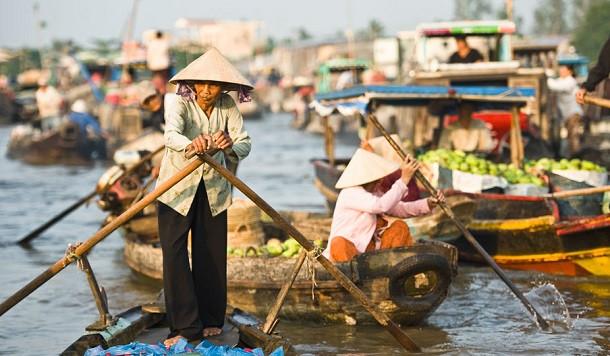 Cai Rang Market
