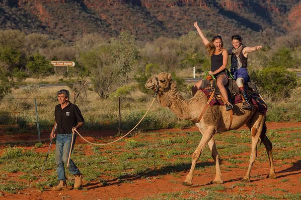 camel-ride-Australian-outback