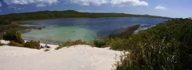 moreton island overnight