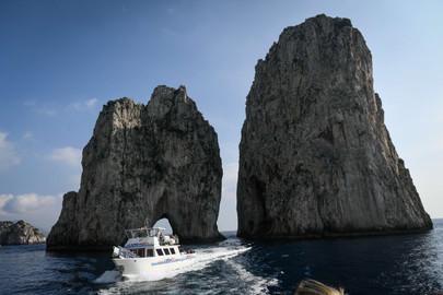 Capri Sea View from Naples