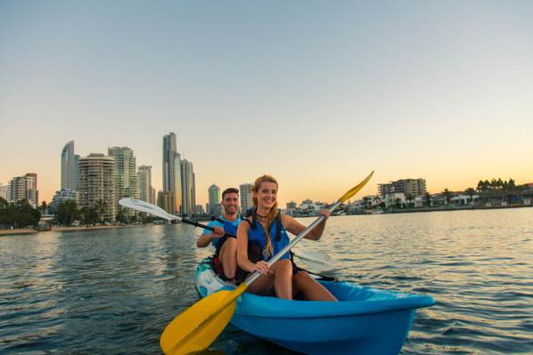 river kayak tour Gold Coast