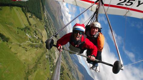 Queenstown Summer Hang Gliding Instructional