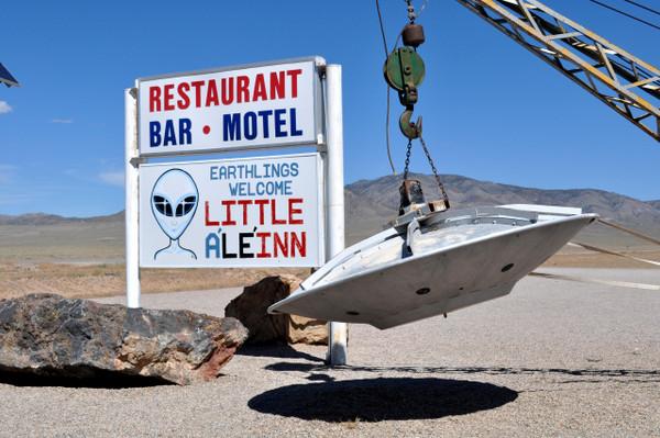 Alien Tour to Area 51