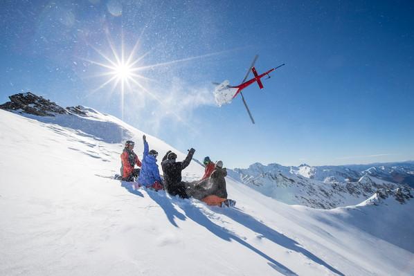 adventure Heli ski new zealand