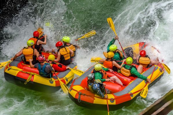 white water rafting NZ