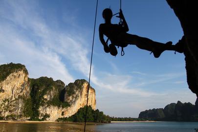 Rock Climbing & Caving in Krabi: Full Day Tour