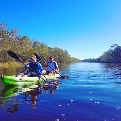 Norfolk-Lagoon-Kayaking