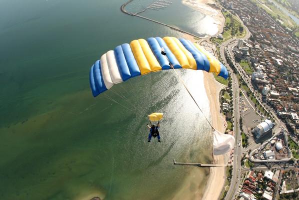 best skydive st kilda