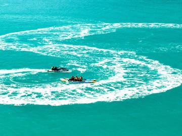 Airlie Beach Jet Boat & Banana Boat Combo Ride