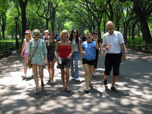 Walking Movie Tour New York