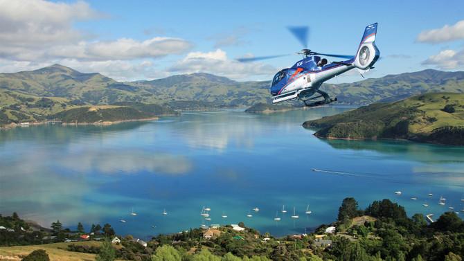 Akaroa Scenic Helicopter Trip