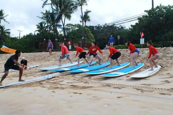 North Shore Surf Lesson