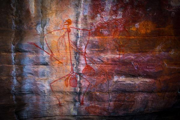 Kakadu NP Aboriginal rock painting Tourism NT-Graham Freeman 128178-56.jpg