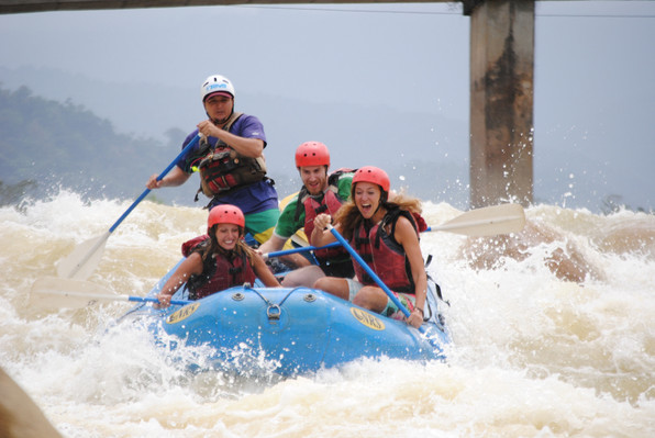 San Jose Tour Whitewater Rafting Adventure