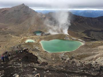 Tongariro Alpine Crossing: Shuttles & Transfer Oreti Round Trip