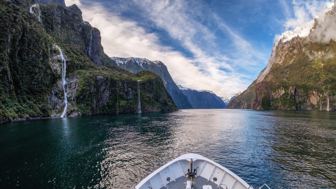 Milford Sound Coach Cruise Fly