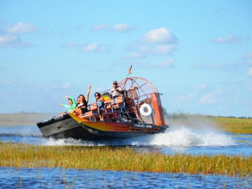 1D Everglades Adventure with Biscayne Boat Ride
