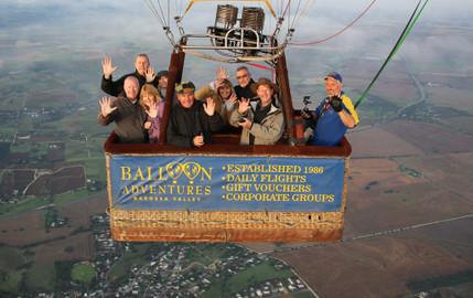 Sunrise Hot Air Balloon Flight Over Barossa Valley