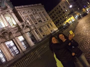 Roaming Rome By Night