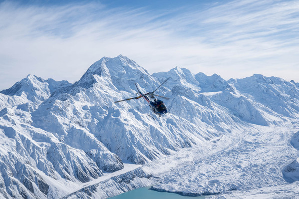 Mt Cook Scenic Helicopter with snow landing deals