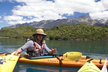 Glenorchy island kayak voucher
