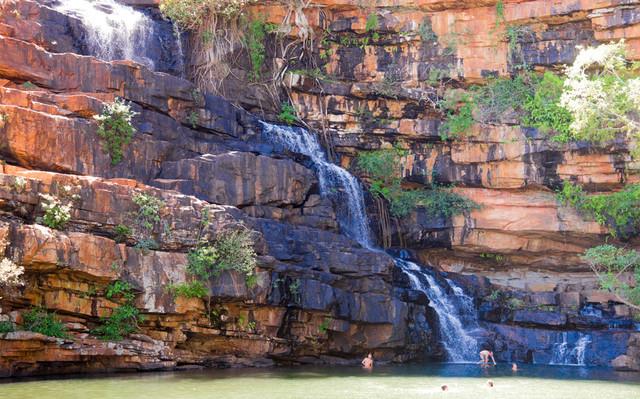 waterfall tour kimberley region