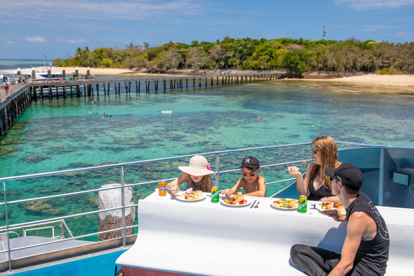 Green Island Cruises From Cairns