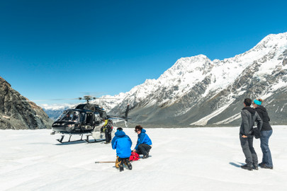 Tasman Glacier Heli Hike From Mount Cook