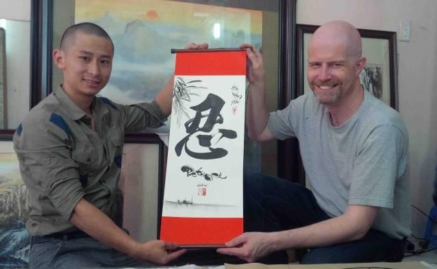 traditional calligraphy vietnam