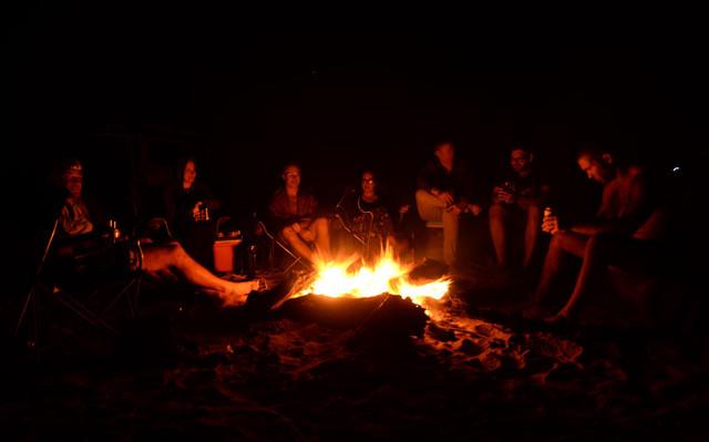 campfires outback tour