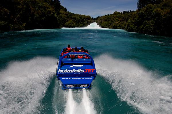 hukafalls jet boat offer