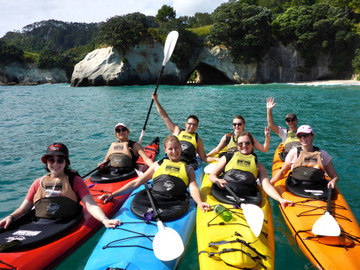 Cathedral Cove Classic Kayak Tour