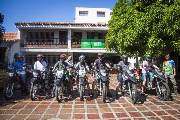 Colombia Palomina motorcycle tour