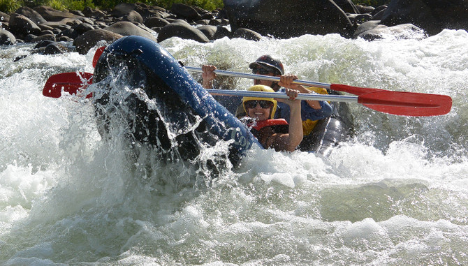 Tully River White Water Rafting - Mission Beach Tour