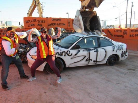 Las Vegas Excavator Smash Session