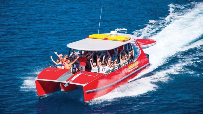 Whitsundays thundercat cruise