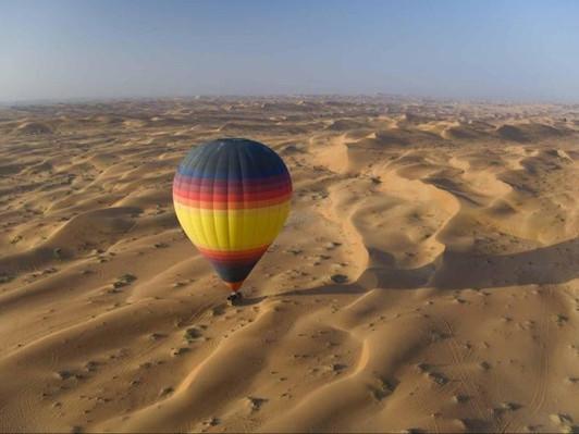 Dubai Hot Air Balloon Flight Discount