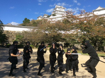 Ninja Experience in Himeji
