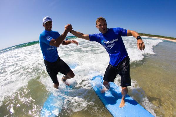 Lennox Head Beginner's Surf Lesson