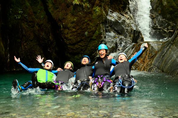 mount aspiring canyoning adventure
