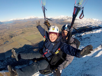 Queenstown Paragliding & Hang Gliding Combo