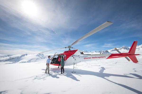 Glacier scenic flight