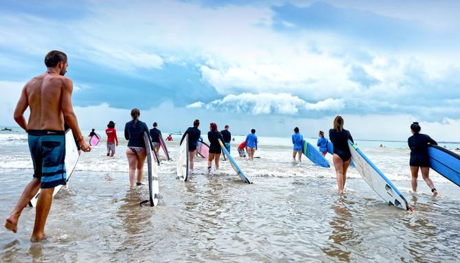 Bali beach tour deal