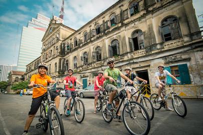 Go Pink - Bangkok Bike Chinatown Tour