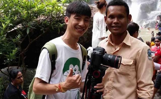 cambodian waterfall exploration