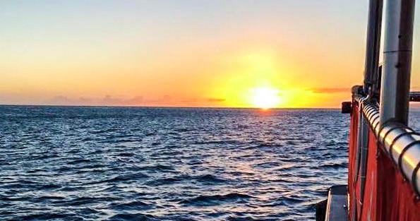Honolulu Sunset glass bottom boat Cruise