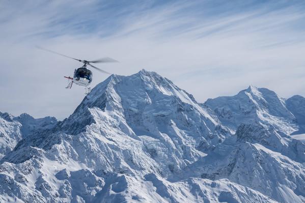 Mt Cook Aoraki Helicopter Flight
