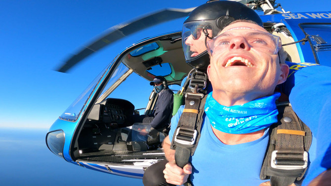 Gold Coast Helicopter Skydive